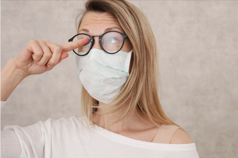 Lentes de contacto en la pandemia